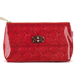 Red Quilted