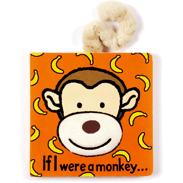 If I Were A Monkey Board Book