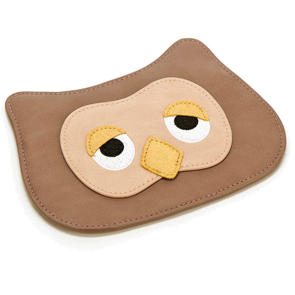 Don't Give a Hoot Owl Appliqué Coin Purse
