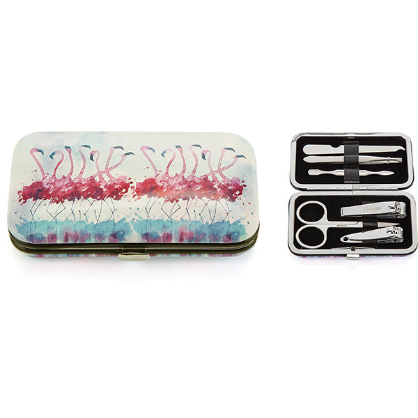 Flamingo Nail Care Set