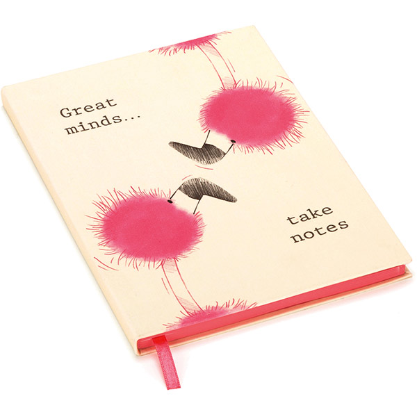 Flaunt your Feathers Great Minds A5 Notebook