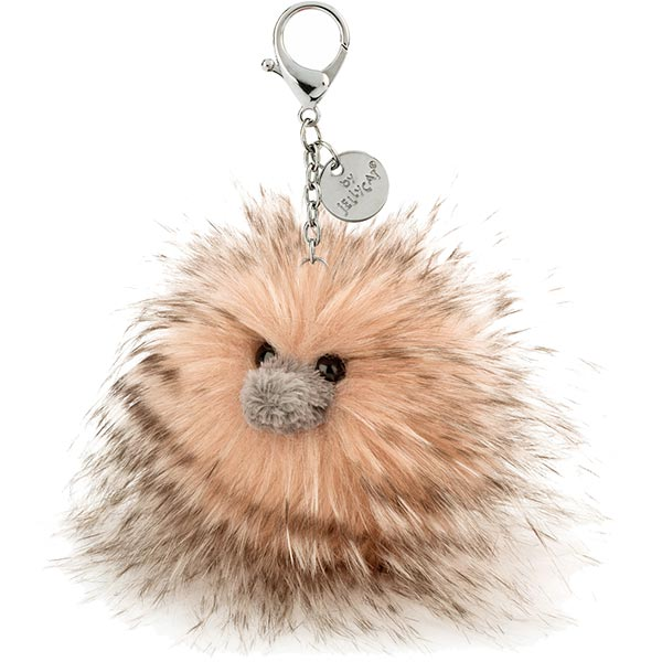 Glad to be Me Ostrich Bag Charm