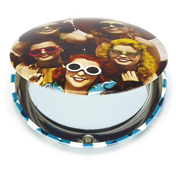 Spec Ladies Clam Mirror