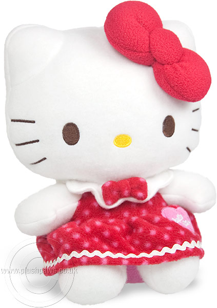 Hello Kitty - Winter Red Dress