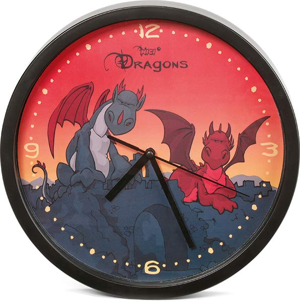 NICI Dragons Wall Clock