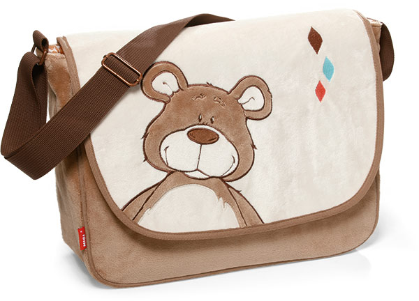 NICI Classic Bear Shoulder Bag