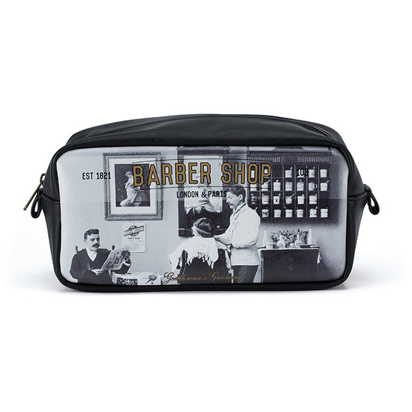 Barber Shop Wash Bag