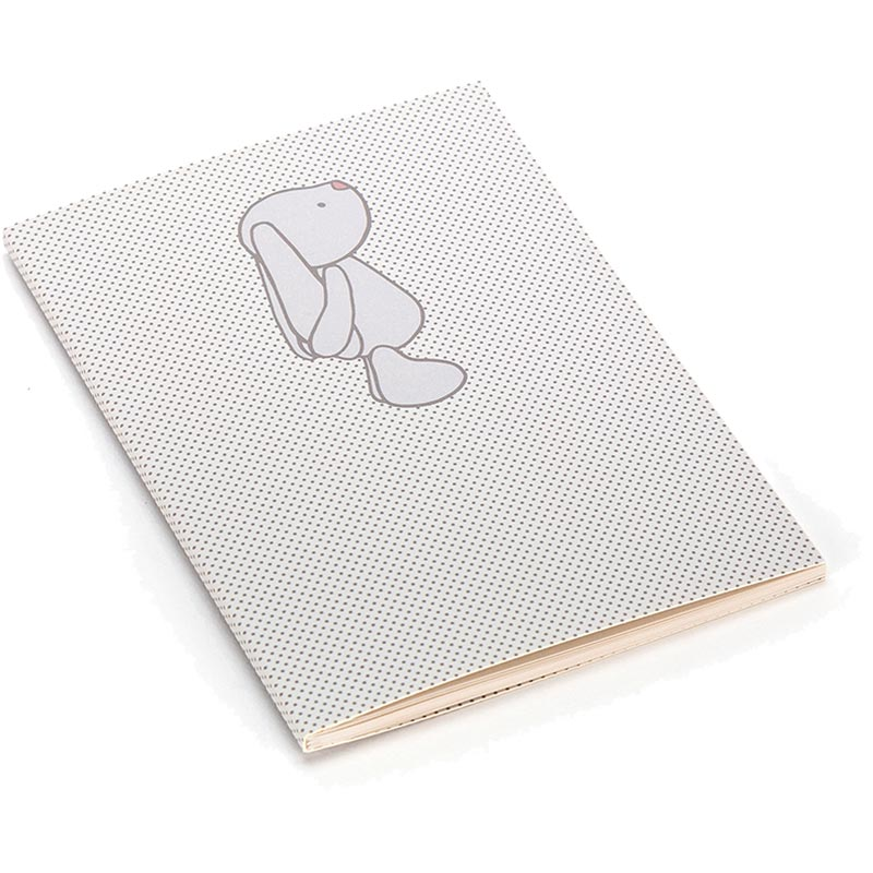 Bashful Bunny Beige Spots A6 Notebook