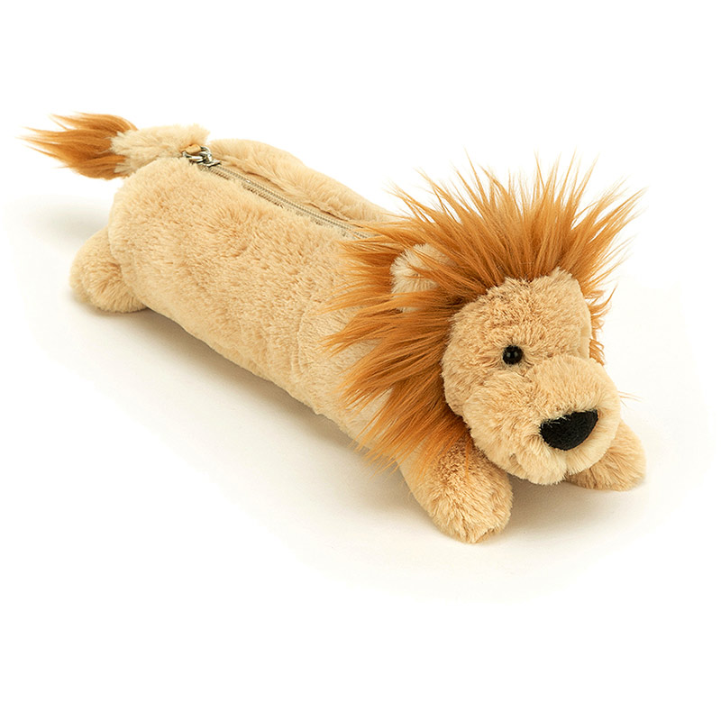 Bashful Lion Pencil Case