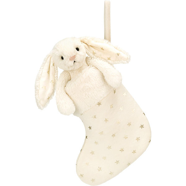 Bashful Twinkle Bunny Stocking