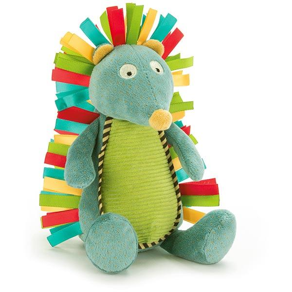 Little Jellycat Carnival Hedgehog Rattle Plushpaws Co Uk