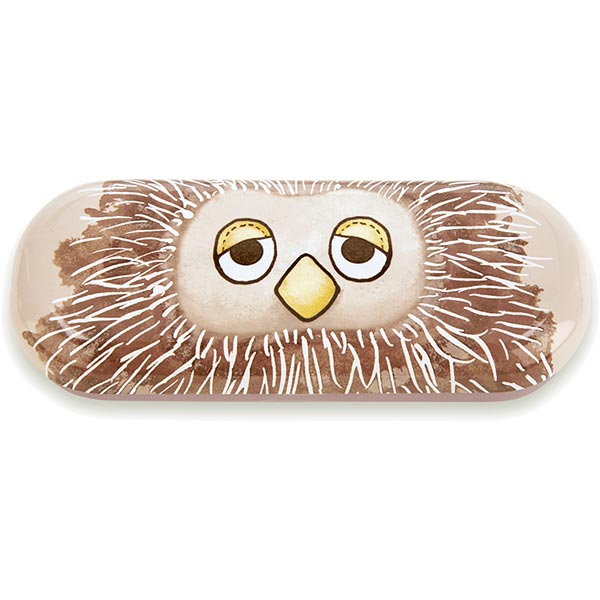 Don't Give a Hoot Owl Glasses Case