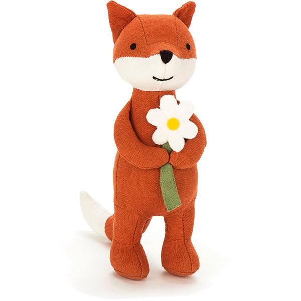 Jellycat Mini Messenger Fox Plushpaws Co Uk
