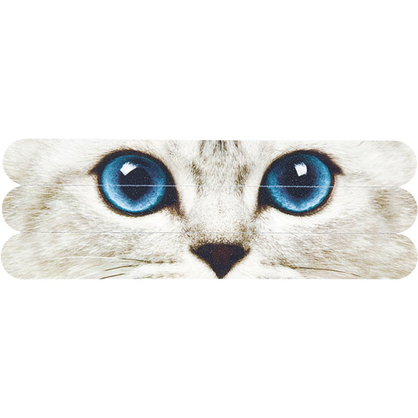 Silver Kitty Nail Files