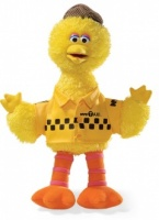 Big Bird NYC Taxi Driver