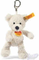 Lotte Teddy Bear Keyring - White