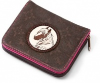 Horse Club Wallet - Piebald