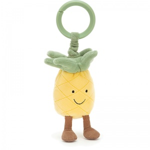 Amuseables Pineapple Jitter & Rattle