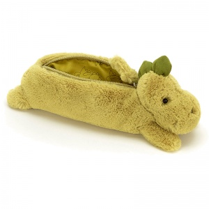 Bashful Dino Pencil Case