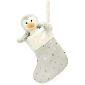 Bashful Penguin Stocking