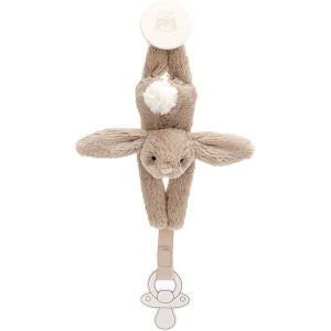 Bashful Beige Bunny Dummy Holder