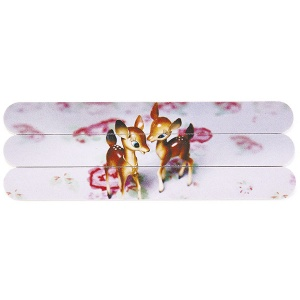 Deer on Rose Nail Files