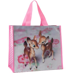 Deer on Rose Shopper
