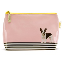 Dog on Stripe Small Bag