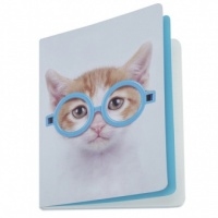 Glasses Cat A5 Notebook