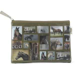 Horse Gallery Flat Bag