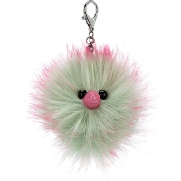 Mint Fizz Pompom Bag Charm