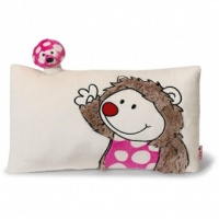 Harriet Hedgehog with 3D Mushroom Cushion