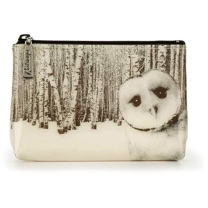 Owl in Woods Make-Up Pouch