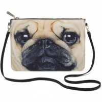 Pug Cross Body Bag