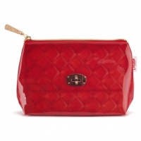 Red Quilted Small Bag