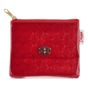 Red Quilted Coin Purse