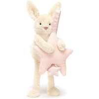 Star Bunny Pink Musical Pull