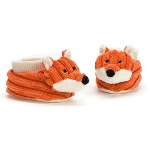 Cordy Roy Baby Fox Booties