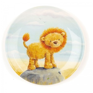 The Very Brave Lion Melamine Plate